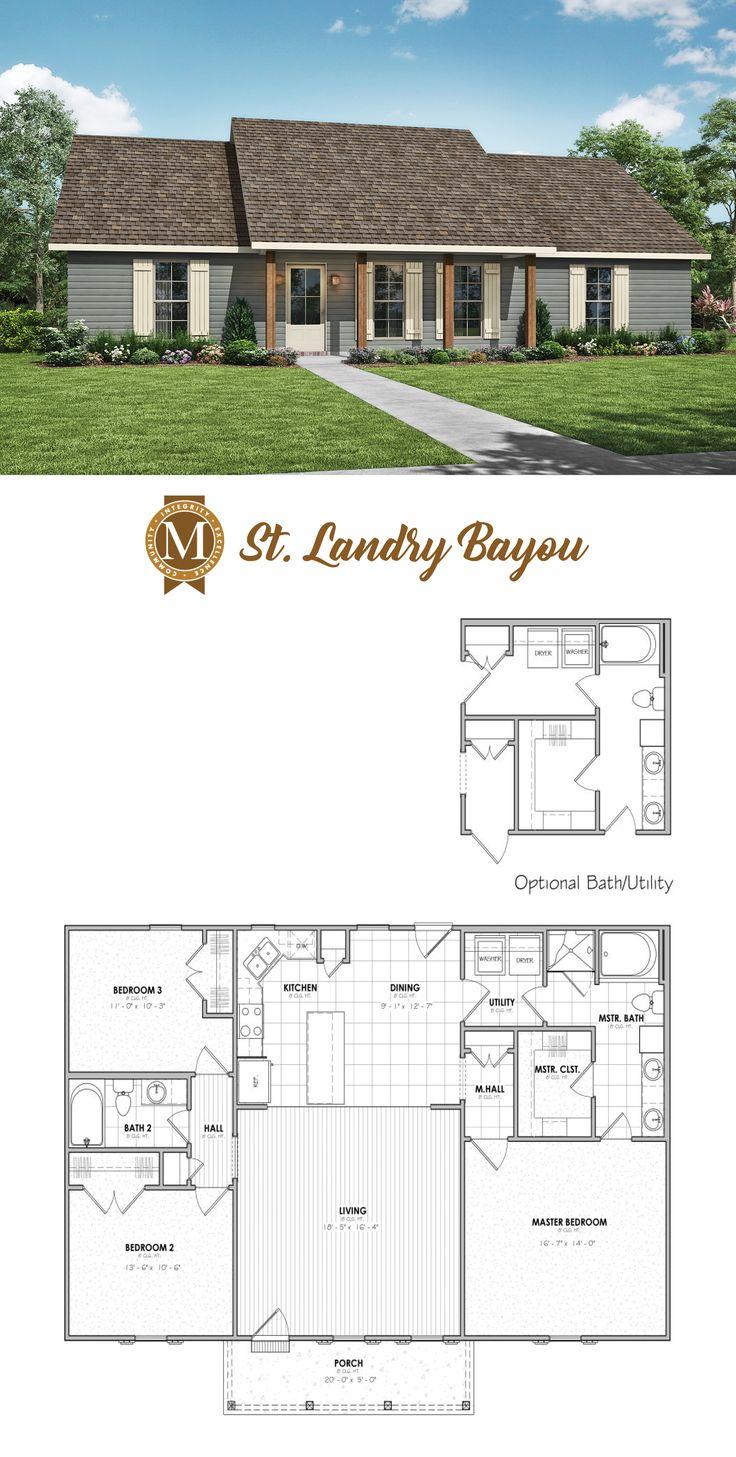 St. Landry Bayou Floor Plan