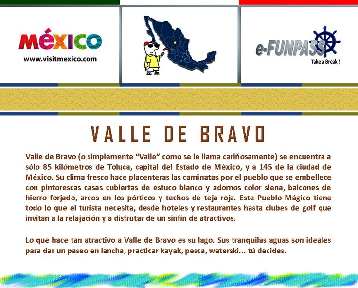 Valle de Bravo Info...
