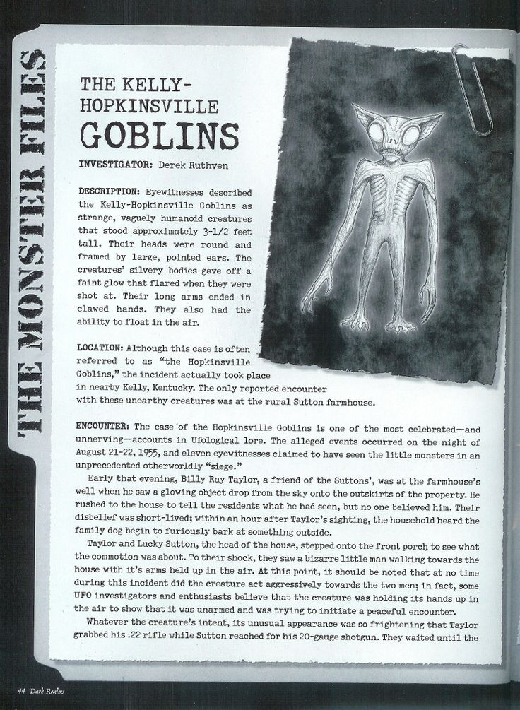 the kelly hopkinsville goblins pg 1