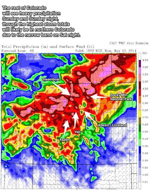 Snowfall Models For Colorado Springs