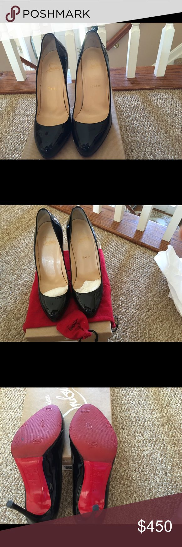 3792c2a7f8bd used christian louboutins for sale red bottoms shoes protecter