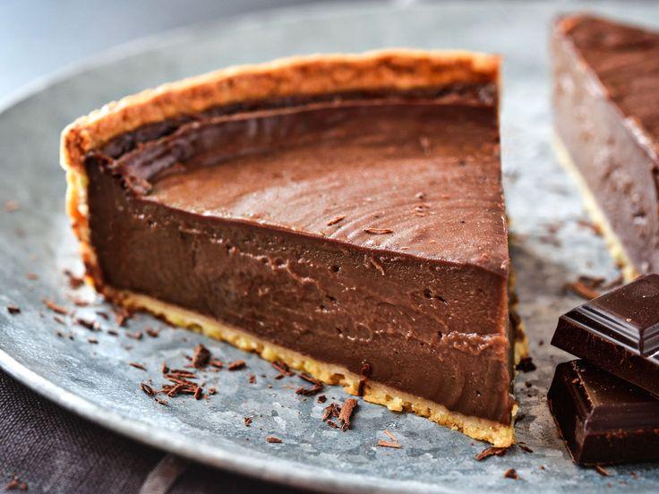 Découvrez la recette Flan au chocolat maison sur cuisineactuelle.fr.