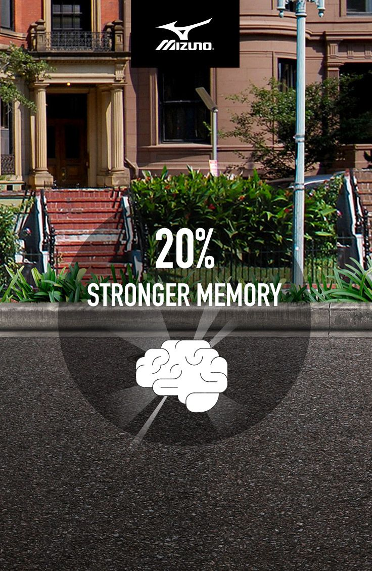 Mizuno believes running is powerful. So we commissioned a statistical analysis to find out what the world could look like if everybody ran. A 20% collective memory boost is just one awesome possibility. #IfEverybodyRan