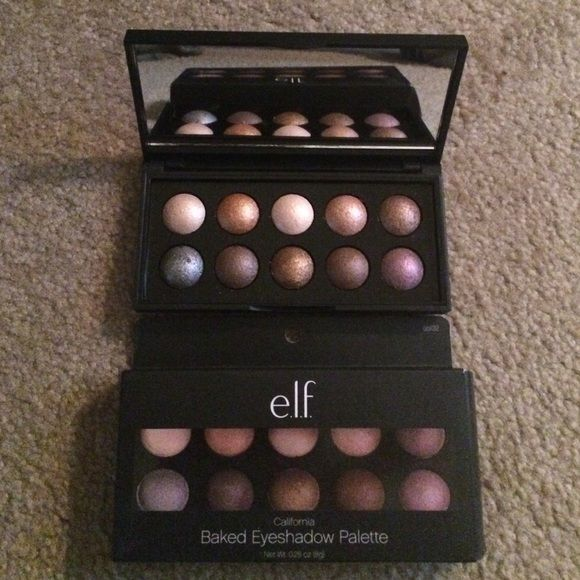 Elf palette Shimmery shadows palette Elf Makeup Eyeshadow