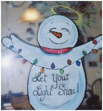 Holiday Window Painting Ideas | Holiday Painting Ideas for Walls and Windows | Interior Designing Blog