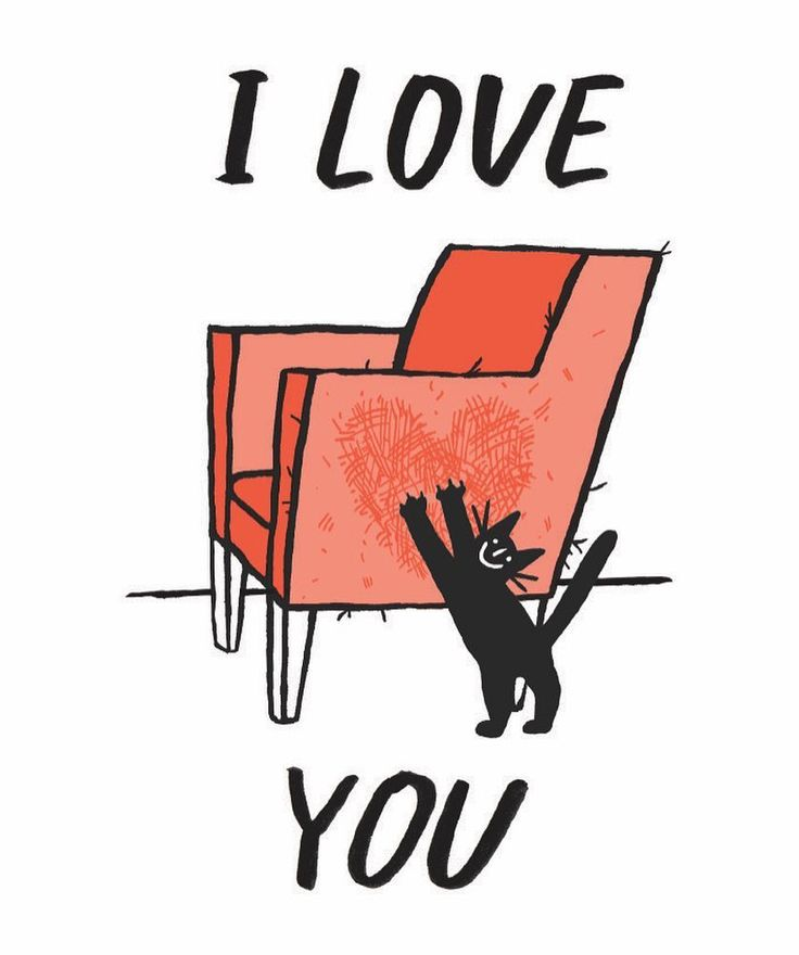 Could print off and use as a Valentine's Day card. MY CAT LOVES ME