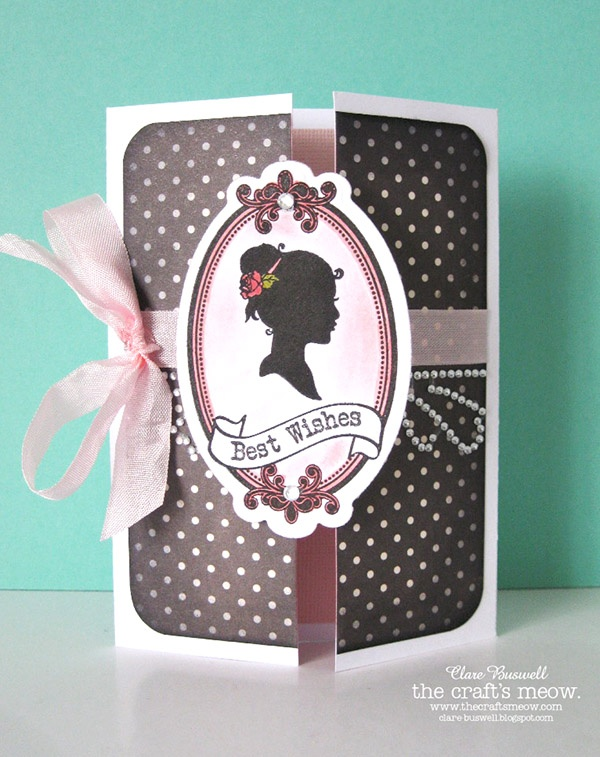 Clare's creations: The Craft's Meow March release previews Day 4 - Sweet Silhouettes