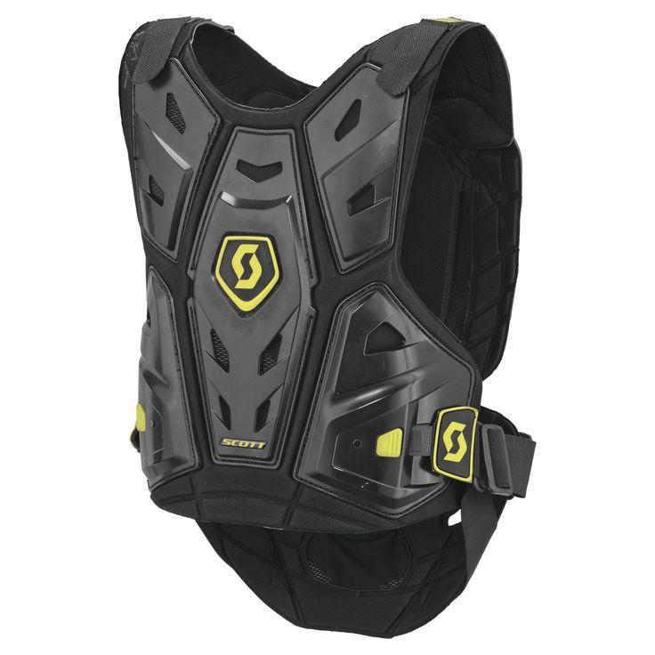 Scott COMMANDER Body Armor (BLK/GRN) *LEATT Compatible*