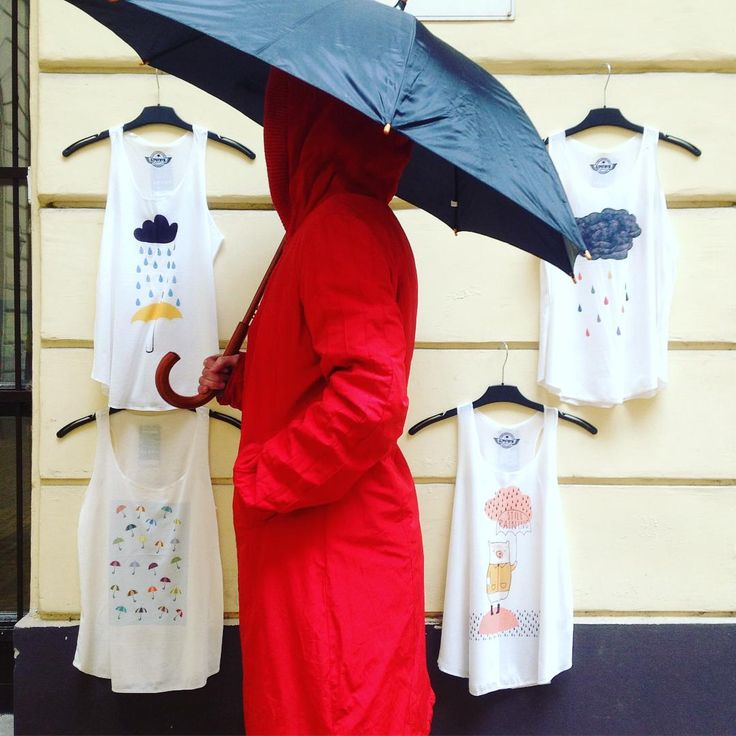 Happy umbrella month to everyone!  szputnyik szputnyikshop budapest singingintherain umbrella spring instacute rainy tanktop selection littleredridinghood vintage raincoat undermyumbrella icantstandtherain