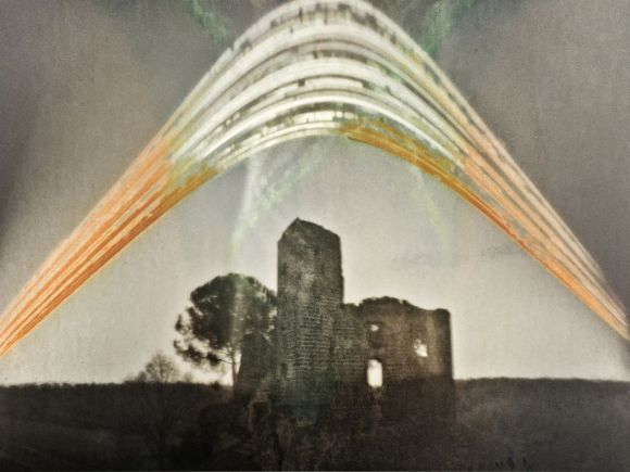 The Time Castle (pinhole solar photograph)