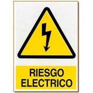 Señal Riesgo Electrico - http://www.janfer.com/es/advertencia/603-senal-riesgo-electrico.html