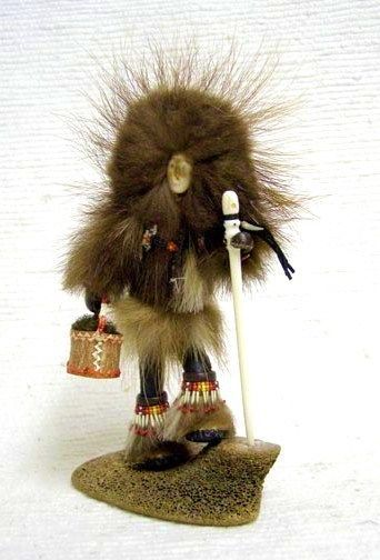 Native Alaskan ATHABASCAN Indian Glenda McKay Qavig Wolverine Woman Doll | eBay