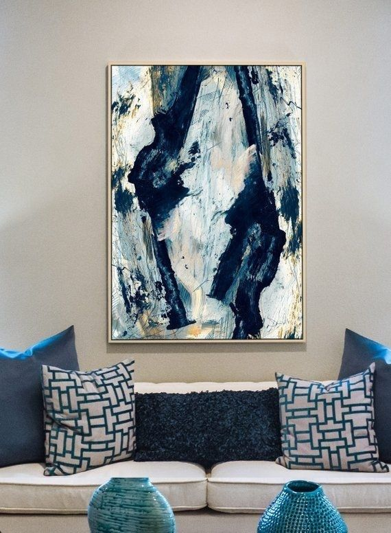 32 Affordable Ideas For Large Wall Decor Large Abstract Wall Art Large Abstract Painting Abstract Canvas Painting