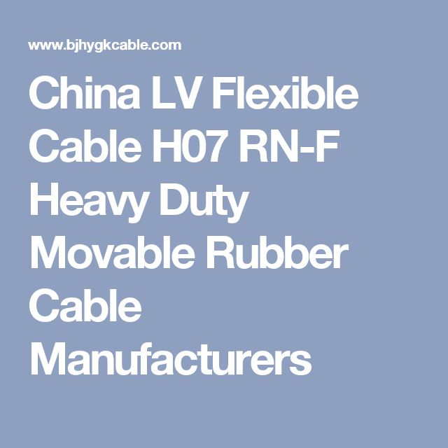 27 best Rubber insulated cable images on Pinterest | Wire, Cable and ...
