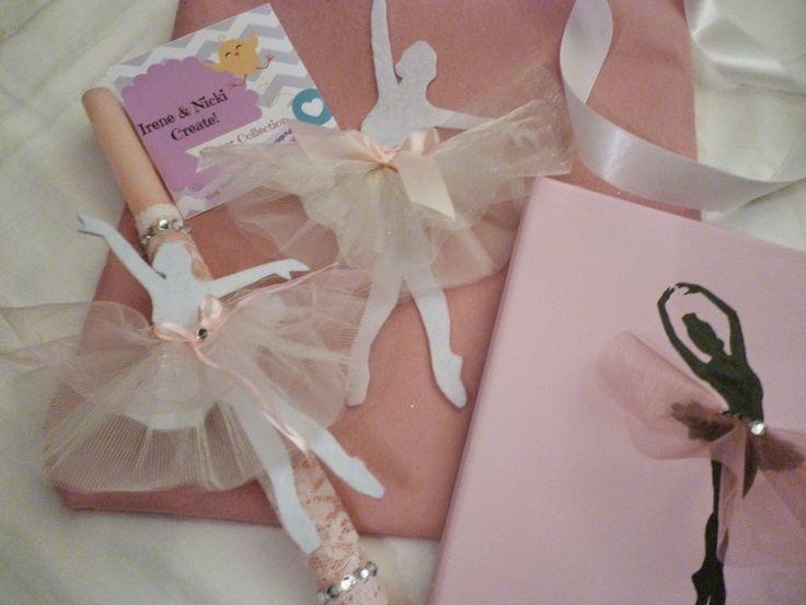 Irene & Nicki Create!  :           Ballerina Set For Easter  ...