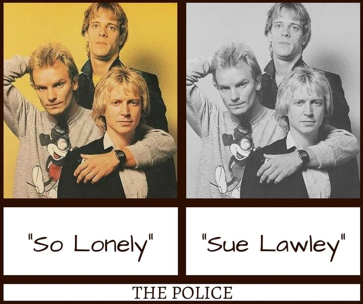 The Police So Lonely Misheard Lyrics