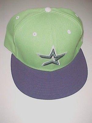 Houston Astros Star Logo MLB AL Adult Unisex Green Baseball Cap 7 1/2 New NWT