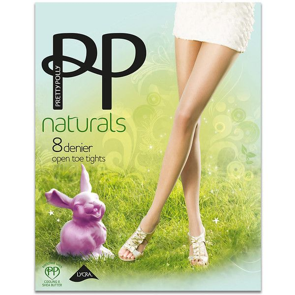 Pretty Polly Naturals Toeless Pantyhose ($15) ❤ liked on Polyvore featuring intimates, hosiery, tights, pantyhose, ultra sheer, women, sheer tights, pretty polly pantyhose, pretty polly and pretty polly tights