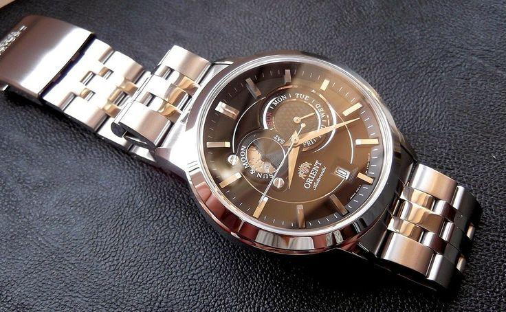 Blog de montres: Présentation de la montre Orient ET0P002B Sun & Mo...