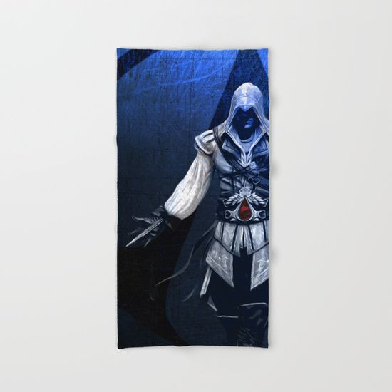 Assassin's Creed Ezio Poster Hand & Bath Towel SOLD! Many thanks to the buyer!! #shopping #ezio #bathtowel #ezioauditore #gaming #gaminglife #gamer #gamergifts #gifts #videogames #giftsforhim #bathroom #beach #beachwear #beachlife #home #homedecor
