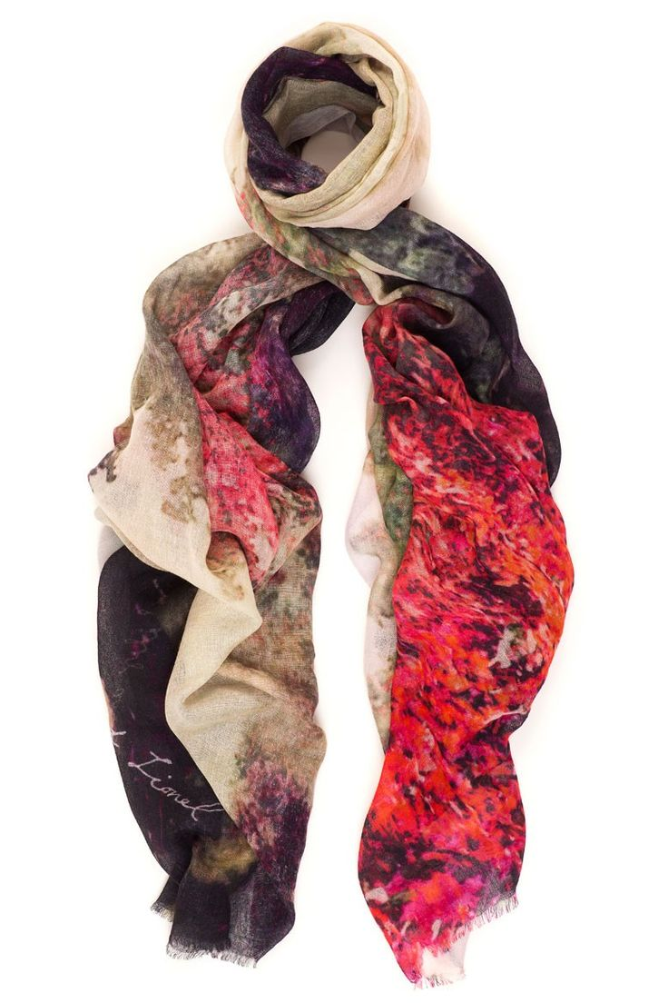 Wrap the mystery of Avalon around You with this beautiful blooming tree by Lily and Lionel.Available online: http://www.sofinah.fi/product/341/scarf-avalon-hot-pink