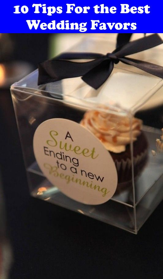 10 Tips For The Best Wedding Favors Wedding Favors Wedding