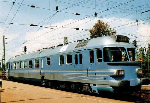 Hungarian Rába 43 Diesel-Hydromechanic locomotive - Hatvan, Hungary by temp13rec., via Flickr
