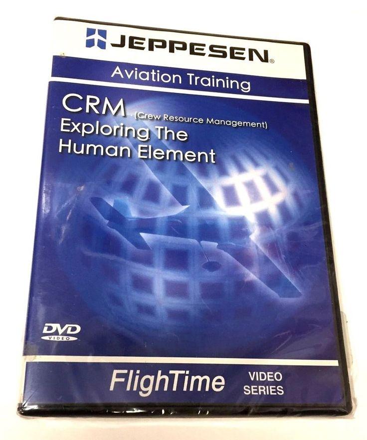 JEPPESEN Aviation Training CRM Exploring The Human Element DVD Brand New Sealed #Jeppesen