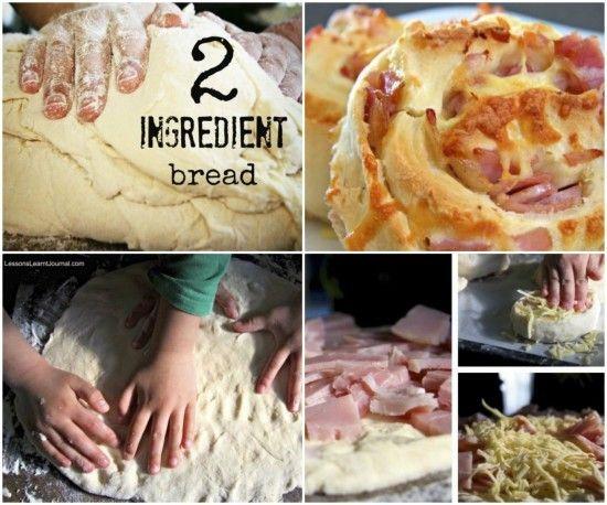 2 Ingredient Bread