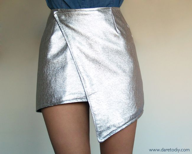 tutorial falda asimetrica (wrap skirt)