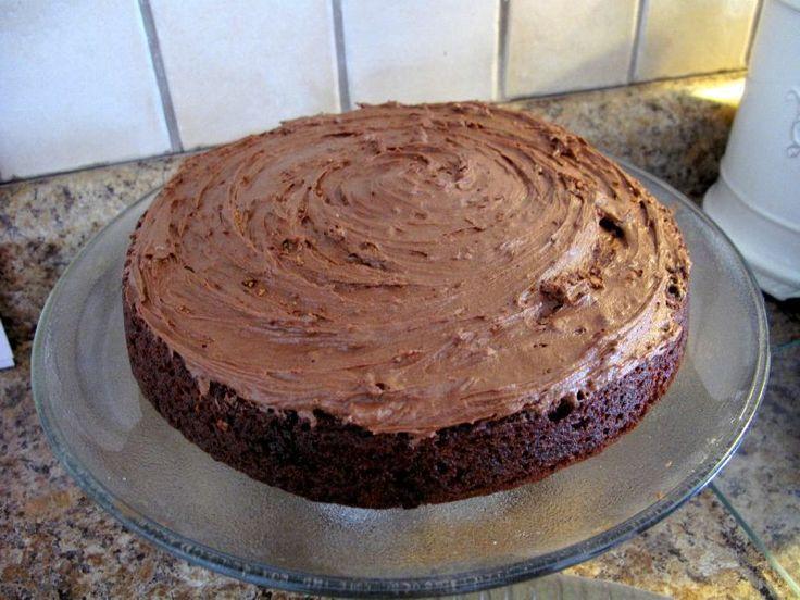 Gâteau au chocolat SANS GLUTEN, sans lait et sans oeufs