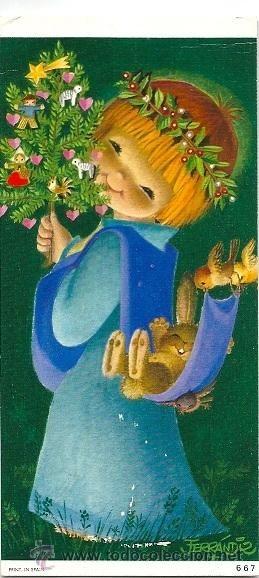 Christmas angel - Juan Ferrándiz - 1969