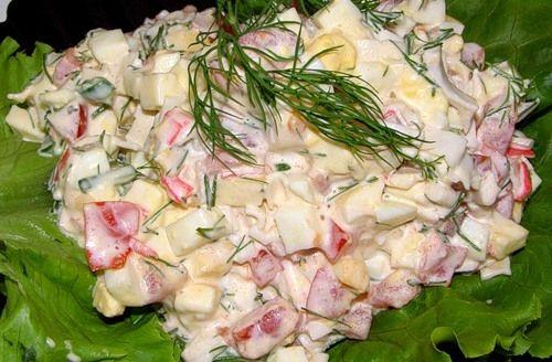 Рецепты салаты к дню рождения