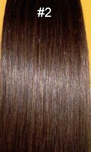 Tape In Hair Extensions- Super Tape 20 Inch: 20 pc Straight #2: Ciao Bella and Venus Hair Extensions Supply