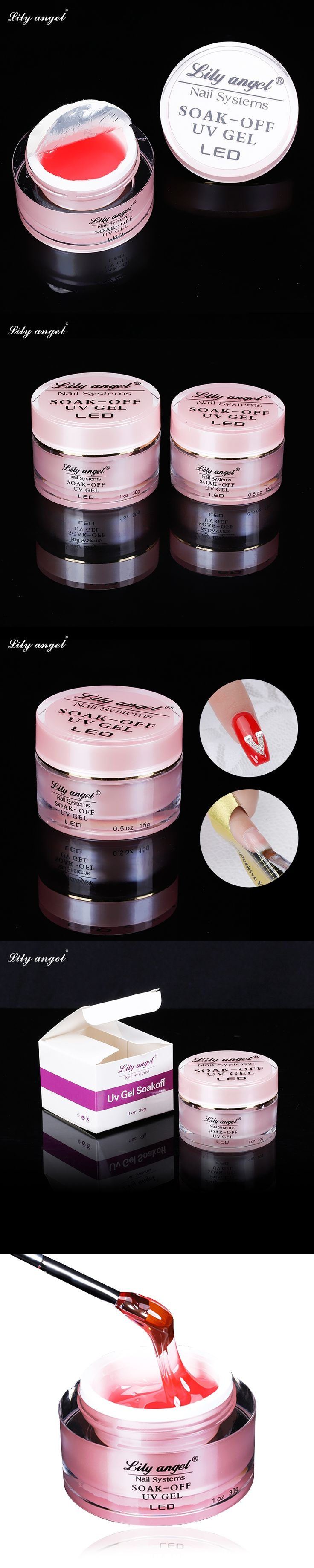 High Quality 15/30g UV Gel LED Lamp Dry Fast Soak Off Pink /Transparent Nail Gel Polish Nails Extension Nail Art Gel Varnishes