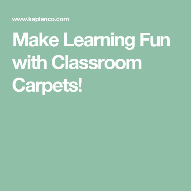 Make Learning Fun with Classroom Carpets!