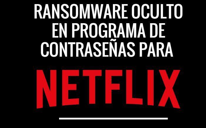 #Seguridad #netflix Un generador de contraseñas de Netflix que en realidad guarda un virus
