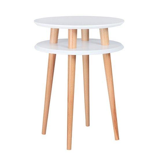 Hoher Ufo Tisch - Weiß | RAGABA