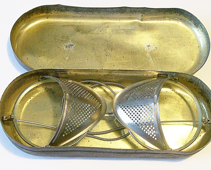 Vintage Steampunk Safety Eye Glasses motorcycle hot rod