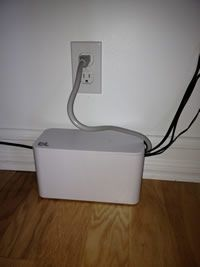 Bluelounge - CableBox Mini: Liven up your space. Hide cables.