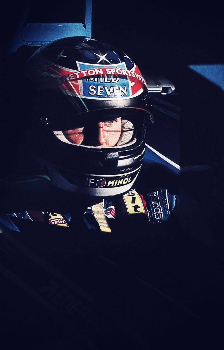 Michael Schumacher . Calm before the storm.