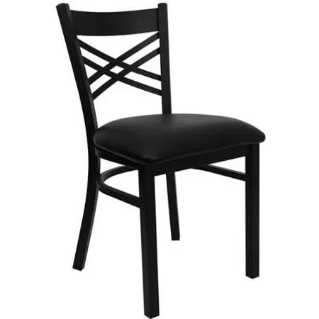 Black Metal Dining Chairs best 25+ black metal chairs ideas on pinterest | industrial dining