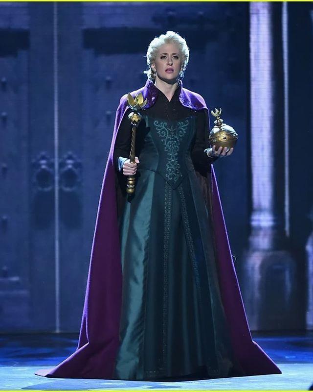 Elsa Coronation Dress | Frozen JR in 2019 | Frozen musical, Broadway