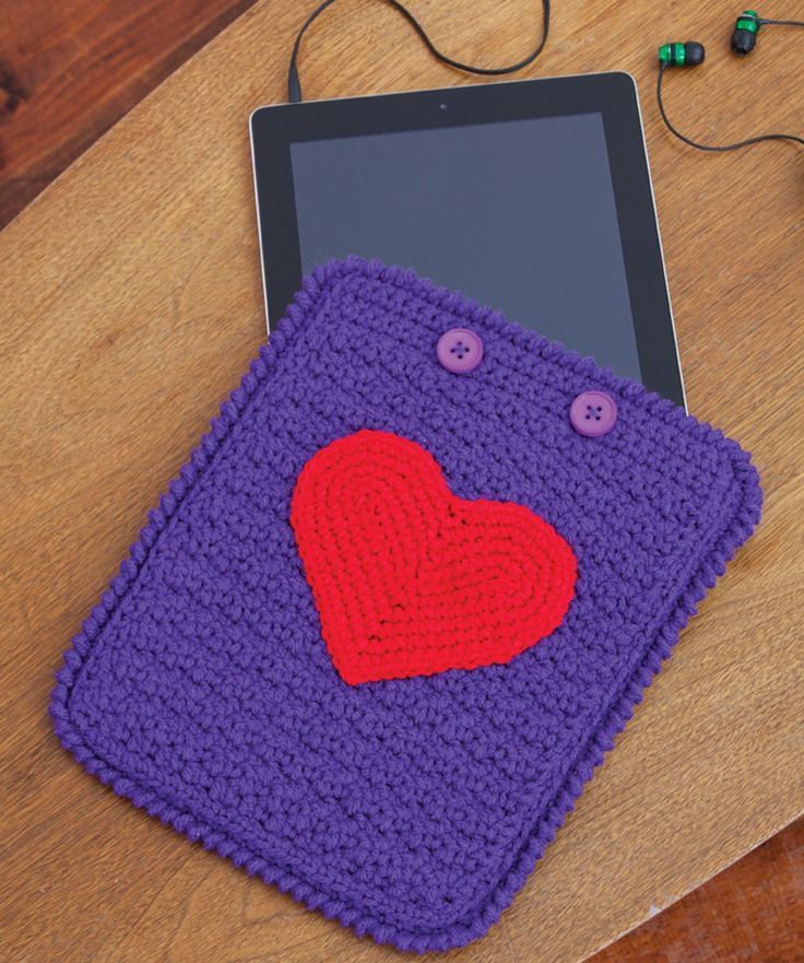 iPad Case Crochet - Tuttorial ❥ 4U // hf
