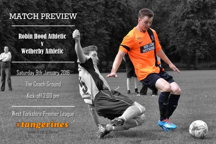 MATCH PREVIEW: Robin Hood Athletic - The Tangerines Return To League Action! http://www.wetherbyathletic.com/news/match-preview-robin-hood-athletic-1548437.html