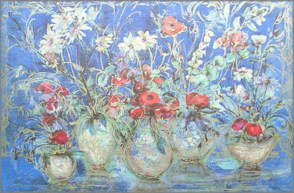 Edna Hibel - Freedom's Flower