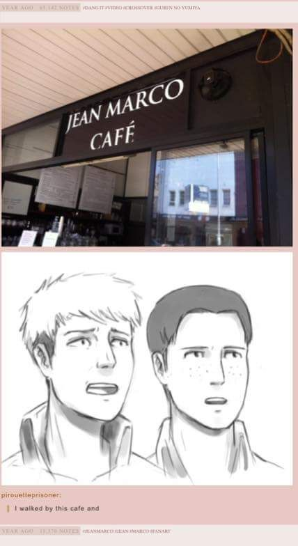 so they both quit and decided to open a cafe... where everything is half off.......<<<you just HAD to include that last part, didn't you?