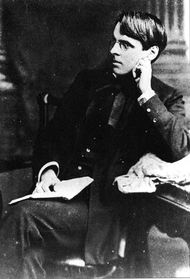 William Butler Yeats, b. 148 years ago today…