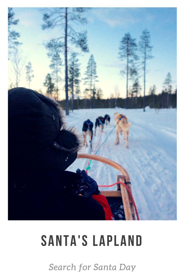 We were unanimous in naming our Search for Santa Day with Santa's Lapland our top adventure of 2016