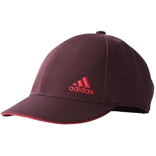 Check out the stunning and special adidas Women's Climalite Tennis Cap in Dark Burgundy and Energy Pink. This curved brim cap features an adjustable back strap for secure comfort with every wear. climalite technology in the sweatband conducts sweat away from your skin to keep you cool and dry in warm conditions.